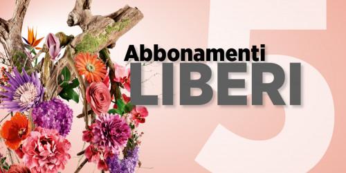 Immagine ABBONAMENTO LIBERO A 5 CONCERTI